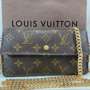 Vintage LOUIS VUITTON International Wallet onChain